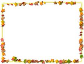 Transparent Thanksgiving Borders and Frames