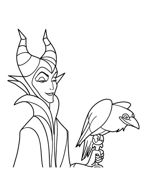 Maleficent Pumpkin Stencil by Dibujos De Malefica Para Colorear