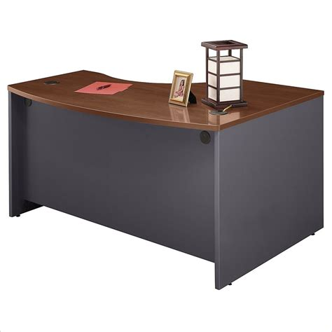 desk l with outlet bush components outlet left 39 39 l 39 39 bow desk 29 7 8 39 39 h x 58