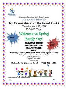 Preschool Open House Flyer Template