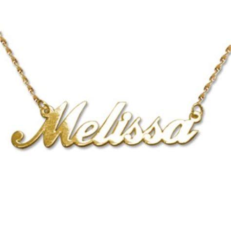 collier avec votre prenom or 14 carats bijou personnalis 233