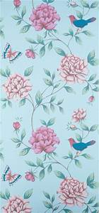 Monsoon Isabelle Wallcovering Duck Egg 10m review