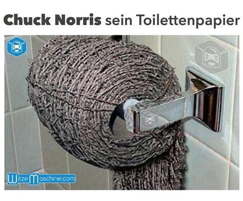 chuck norris witze sein toilettenpapier aus stacheldraht
