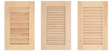 louvered kitchen cabinet doors cove raised panel cabinet door plans cabinet doors 7182