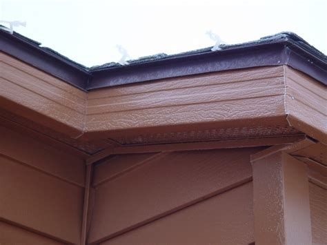 soffit  fascia steel installation