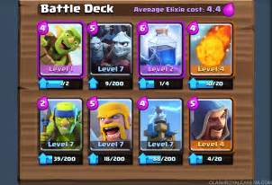 Top Decks Clash Royale by Push To 2300 Trophies At Level 7 Clash Royale Guides