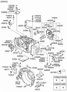 2007 Hyundai Tucson Bracket