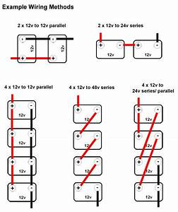 wiring multiple 6 volt batteries together parallel With club car 12 volt battery wiring diagram 24 volt battery wiring diagram