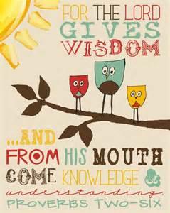 Proverbs 2 6