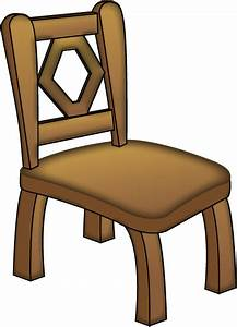 Free Clip-Art: Objects » Household Objects » Brown Chair
