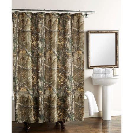camo curtains walmart real tree xtra shower curtain walmart