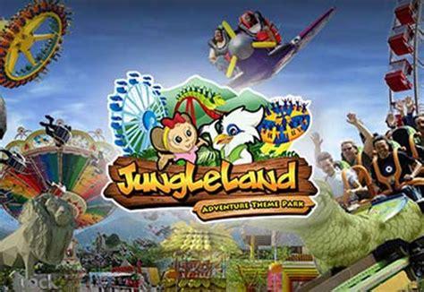 wahana jungleland sentul city bogor tempat wisata
