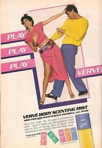 1987 Print Ad Verve Body Scenting Mist Play Play Verve ...
