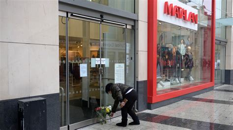 tributes paid after two matalan workers found dead near cardiff city centre shop daily mail online