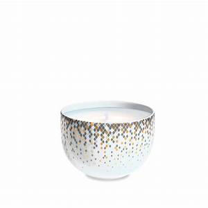 Pot A Bougie : souffle d 39 or pot bougie haviland site officiel manufacture 100 fran aise de porcelaine ~ Teatrodelosmanantiales.com Idées de Décoration