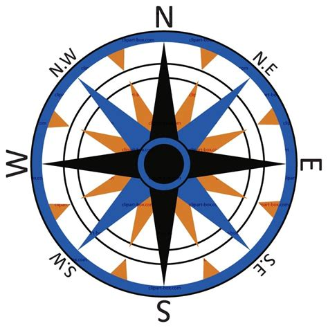 Compass Clip Compass Clipart Clipground