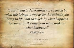 al inspiring quote on attitude alame leadership inspiration personal development