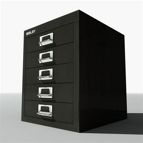 small metal filing cabinet 3d model of bisley small filing cabinet