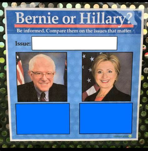 Tumblr Meme Templates by Bernie Or Hillary Blank Template Imgflip