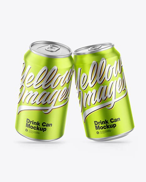 If you would like to customize this mockup to your freepsdvn. Matte Metallic Drink Cans Mockup in Can Mockups on Yellow ...