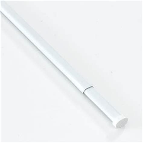 amazon com extra long tension rods for curtains 48 quot 72