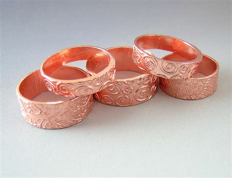 pmc tips art clay copper cutting ring making finishing