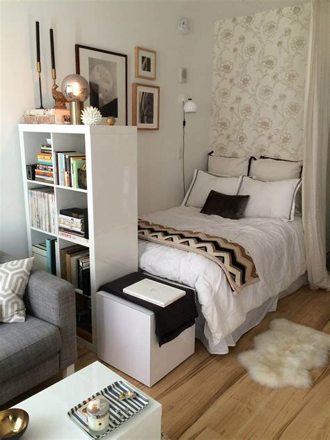 small bedroom ideas   tall bookshelf  room