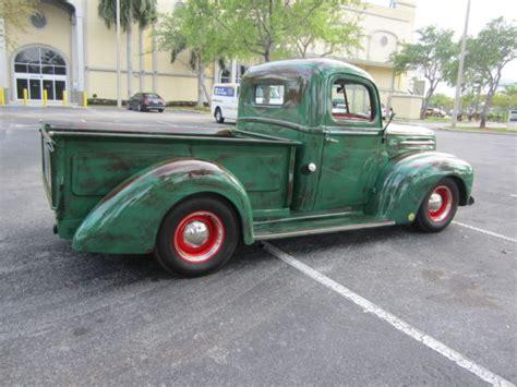 1946 ford up fully restored v8 302 motor patina look