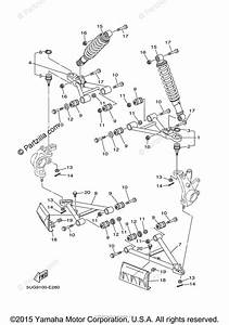 Yamaha Side By Side 2006 Oem Parts Diagram For Front Suspension Wheel