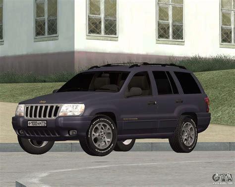 jeep grand wj jeep grand wj for gta san andreas