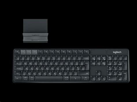 logitech ks multi device wireless keyboard  stand