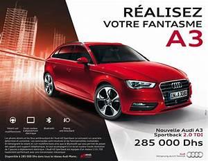 Tarif Audi A3 : audi a3 neuve prix maroc ~ Medecine-chirurgie-esthetiques.com Avis de Voitures