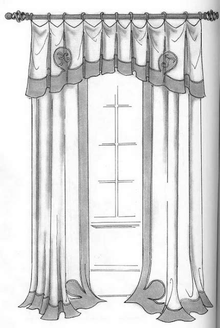 Hand Drawing - Curtains | Dawi93