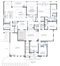 modern contemporary floor plans contemporary courtyard house plan