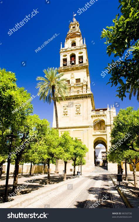 cordoba mosque minaret andalusia patio spain tower naranjos los shutterstock