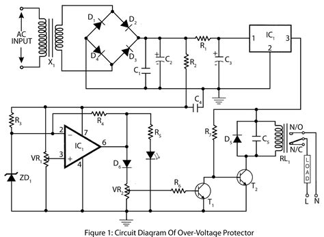 Over Voltage Protector Electronics Project