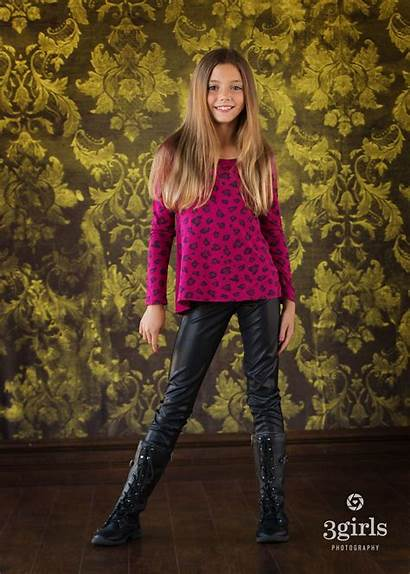 Leather Pants Tights Child Photography