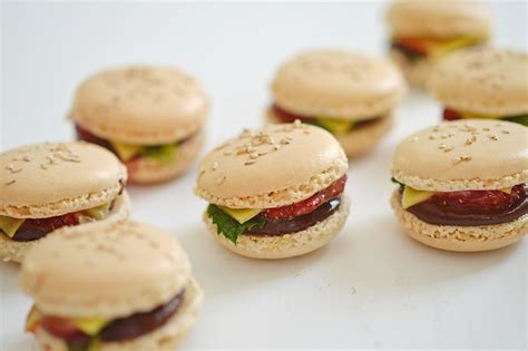 macarons burger le mac chocolate sunny delices