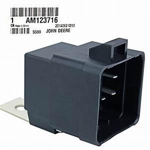 John Deere Original Equipment Relay  Am123716