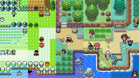 Light Platinum Rom Gba by 17 Years Of Pok 233 Mon On One Map Pokemon