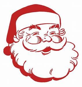 Clipart Santa New Calendar Template Site