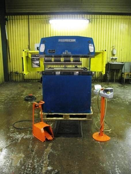 promecam rg25 pressbrake used sheet metal machinery