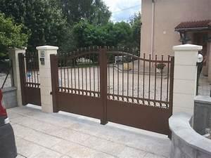 Vial Portillon Fer : portail acier ~ Premium-room.com Idées de Décoration
