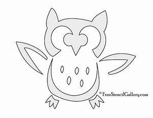 Free Printable Owl Stencils | owl | Pinterest | Owl ...