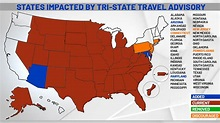 Two more states added to NY's travel advisory list ...