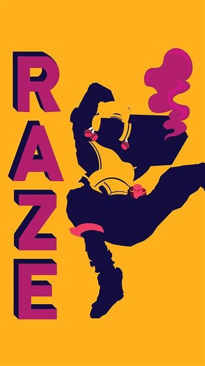 Raze Valorant Artstation Monteiro Ricardo Wallpapers Wallpaperaccess