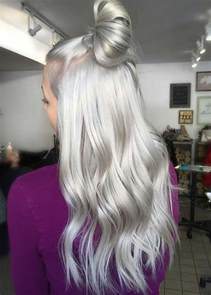 Platinum Silver Grey Hair Color