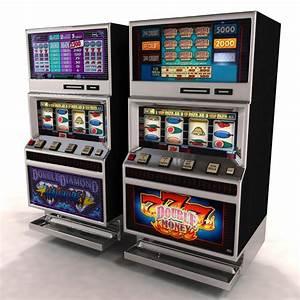 Slot Machine 3D Models for Download TurboSquid