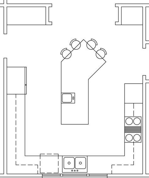island kitchen layout best 25 kitchen layouts ideas on kitchen