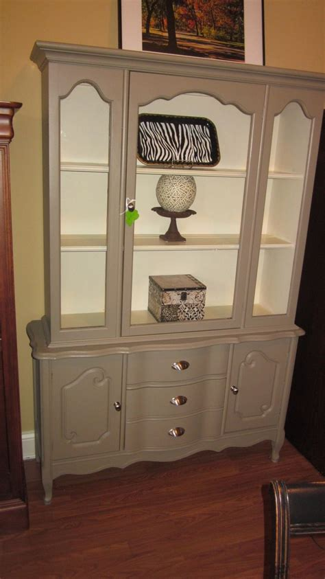 grey china cabinet 65 best ideas about repurpose china cabinet on